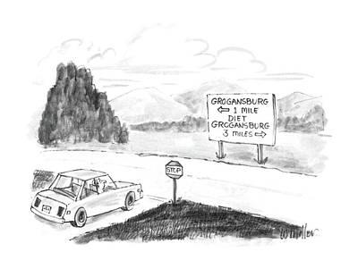 New Yorker September 8th, 1986 Poster