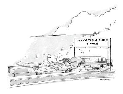 New Yorker September 9th, 1985 Poster