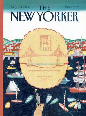 New Yorker September 9th, 1991 Poster