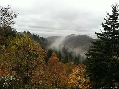 Newfound Gap Overlook Tennessee Poster