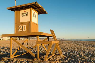 Newport Beach Sunset Series Six Poster