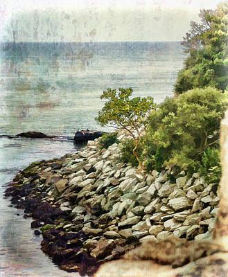 Newport Cliff Walk Poster