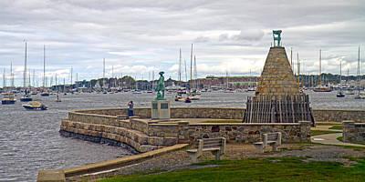 Newport Rhode Island Harbor Ivi Poster by Betsy Knapp
