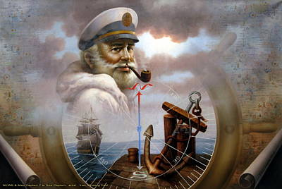 Imperishable Map Captain 7 Poster