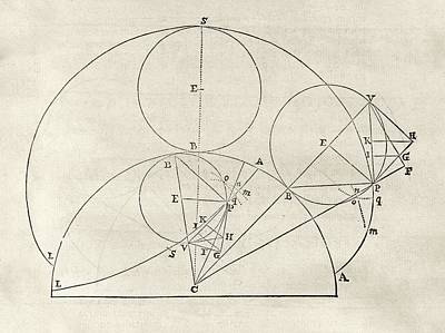Newton On Geometric Curves Poster by Middle Temple Library