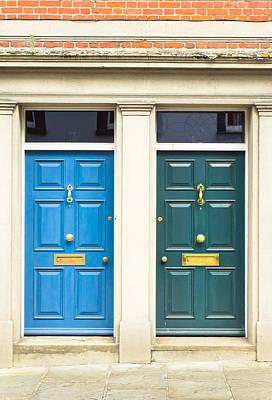 Next Door Neighbours Poster by Tom Gowanlock