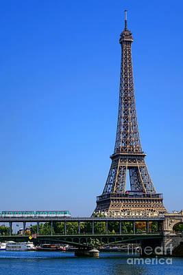 Next Stop Eiffel Tower Poster