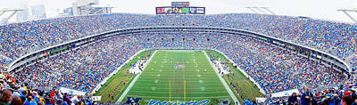 Nfl Football, Ericsson Stadium Poster by Panoramic Images
