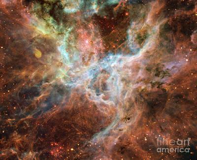 Ngc 2070-tarantula Nebula Poster