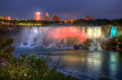 Niagara Falls Canada Sunset  Poster