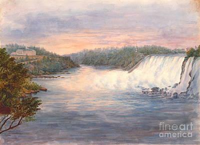 Niagara Falls From Table Rock 1846 Poster