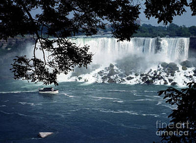 Poster featuring the photograph Niagara Falls by Tom Brickhouse