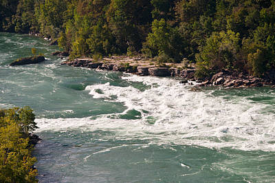 Poster featuring the photograph Niagara River Rapids by Marek Poplawski
