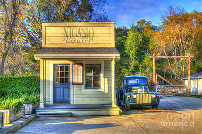 Nicasio Land Company Poster by Alberta Brown Buller
