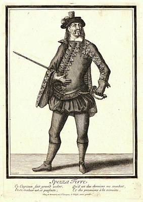 Nicolas Bonnart French, 1636 - 1718. Spezza Ferre Poster