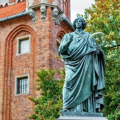 Nicolaus Copernicus Monument Poster by Babak Tafreshi