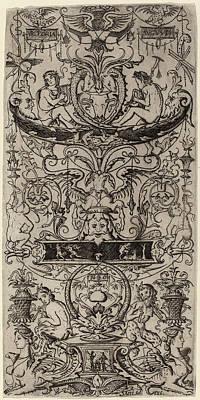 Nicoletto Da Modena Italian, Active 1500-1512 Poster by Quint Lox