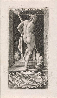 Night, Crispijn Van De Passe Poster