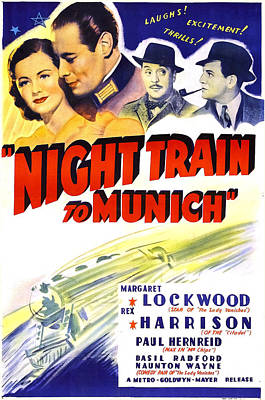 Night Train To Munich, Us Poster, Top Poster