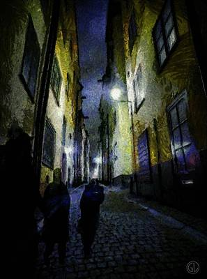 Night Wanderers Poster by Gun Legler