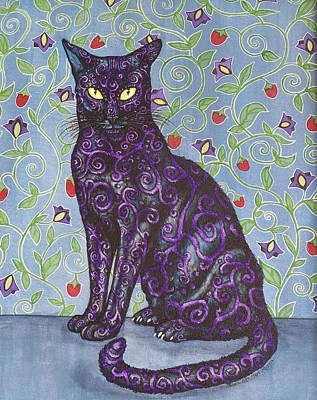 Nightshade Poster by Beth Clark-McDonal