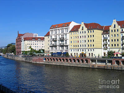 Poster featuring the photograph Nikolaiviertel by Art Photography