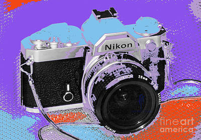 Nikon Fe 2015 Poster by Alan Thwaites