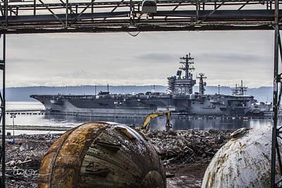 Nimitz - Port Of Everett Poster