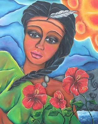 Nina Taina Poster by Janice Aponte
