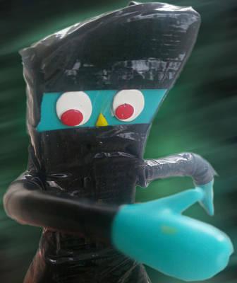 Ninja Gumby Poster
