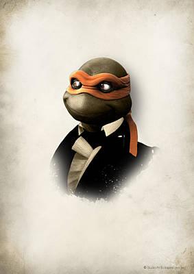 Ninja Turtles In Style 1 Poster