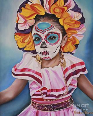 Ninya Muerta 2 Poster by Barbara  Rivera