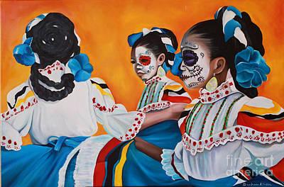 Ninyas Muertas  Poster by Barbara  Rivera