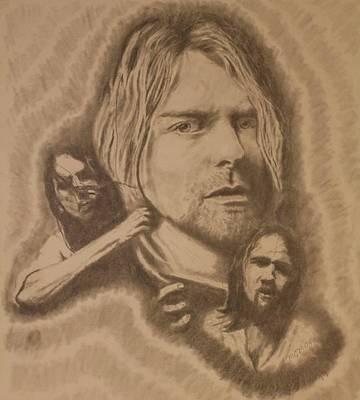 Nirvana Poster by Michael McGrath