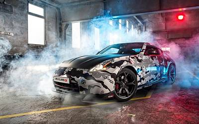 Nissan 350z Poster by Art Work