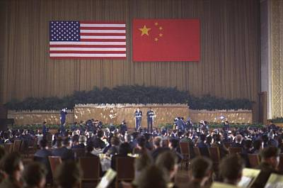Nixon In China. Overview Of The State Poster by Everett