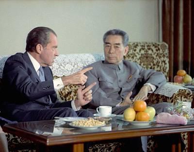 Nixon In China. President Nixon Poster by Everett