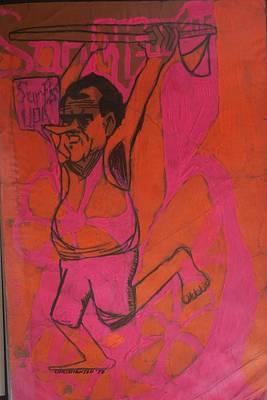 Nixon Surfs Up  Poster by James Christiansen