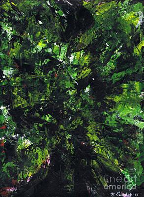 No Leaf Clover - Middle Poster by Kamil Swiatek