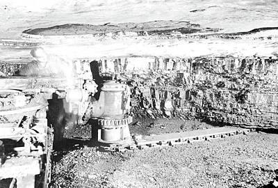 No Location. Mining Equipment., 1936, Lewis Hine Poster