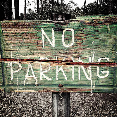 No Parking Poster by Scott Pellegrin