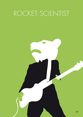 No006 My Teddy Bears Minimal Music Poster Poster