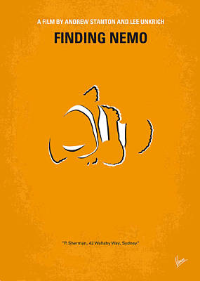 No054 My Nemo Minimal Movie Poster Poster