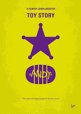 No190 My Toy Story Minimal Movie Poster Poster