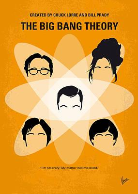 No196 My The Big Bang Theory Minimal Poster Poster by Chungkong Art