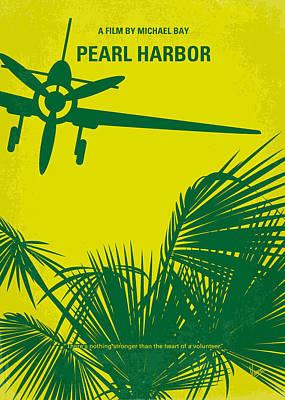No335 My Pearl Harbor Minimal Movie Poster Poster