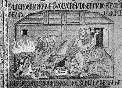 Noah's Ark, 14th Century Poster by Granger