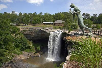 Noccalula Falls In Gadsden Poster