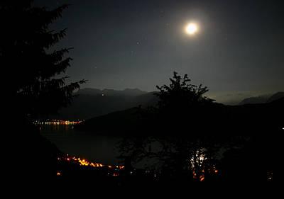 Nocturne In Switzerland Poster