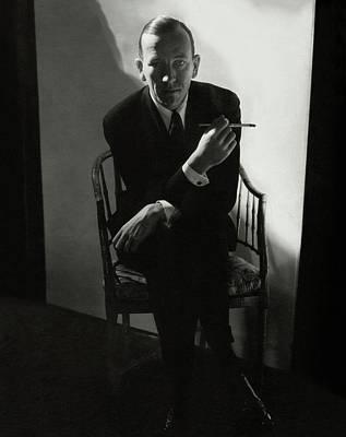 Noel Coward Smoking Poster by Edward Steichen